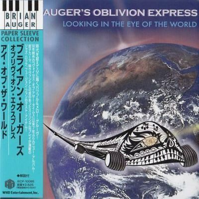Brian Auger's Oblivion Express - Looking In The Eye Of World Japan Mini Lp Cd