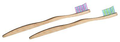 Woobamboo Kids Sprout Super Soft Eco-Friendly Bamboo Toothbrush - Pack of 2