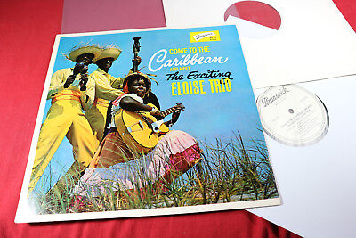 Eloise Trio  COME TO THE CARIBBEAN AND MEET THE EXCITING - LP Brunswick Promo