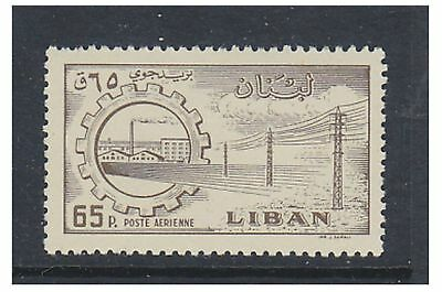 Lebanon - 1958/9, 65p Air stamp - MNH - SG 616