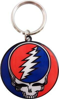 32029 Grateful Dead Steal Your Face Band METAL Key Chain Fob Keychain Keyring