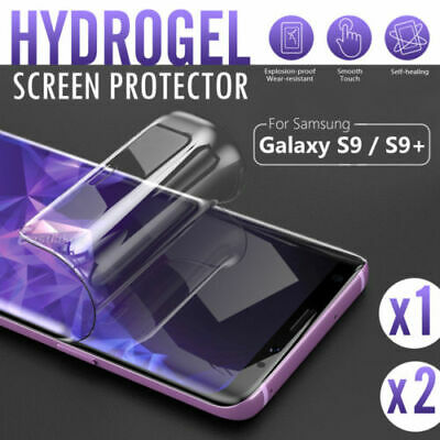 For Galaxy S8 S9 S9 Plus Flex Full Coverage CLear Soft TPU Screen Protector
