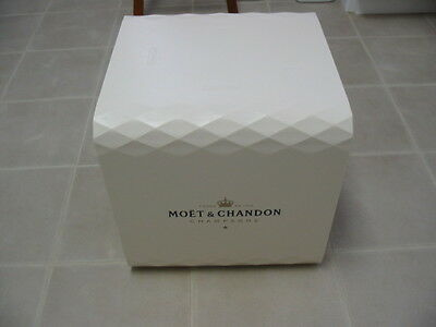 Large Moet Chandon Champagne Store Display Box Cube Shelf Wine Cellar