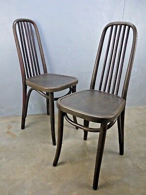 VTG Bentwood THONET Kohn Josef HOFFMANN Frank STYLE Secessionist CAFE Chairs  457