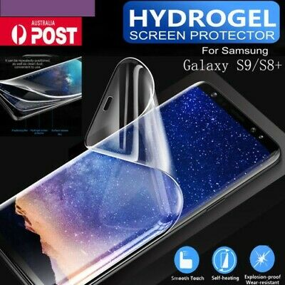 For Samsung Galaxy S9+ S8 Plus Genuine ROCK HYDROGEL AQUA FLEX Screen Protector