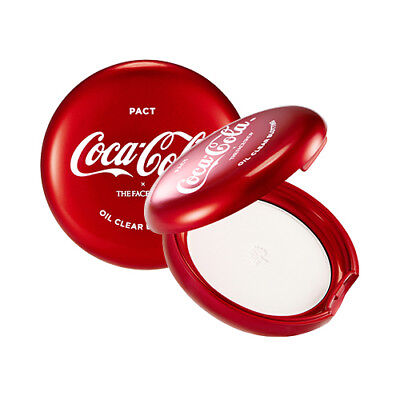 [THE FACE SHOP] Oil Clear Blotting Pact (Coca Cola Edition) - 9g