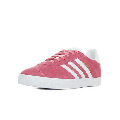 Taille Chaussures Gazelle Adidas Baskets Lacets Cuir Rose Femme WH9YIED2