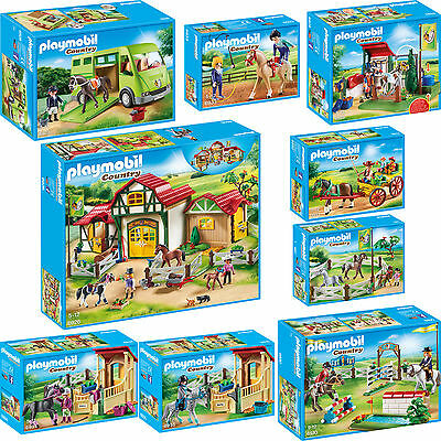 PLAYMOBIL® 9er Set 6926 6928 6929 6930 6931 6932 6933 6934 6935 Reiterhof
