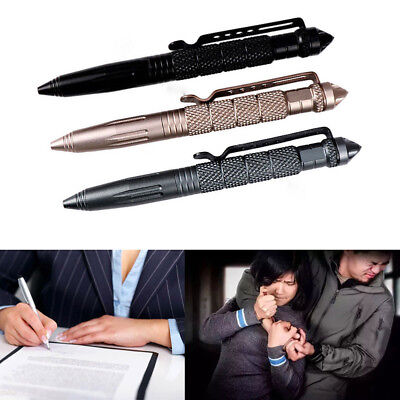 Self Defence Tactical Pen Glass Breaker & DNA Catcher Survival Tool Defense Gear