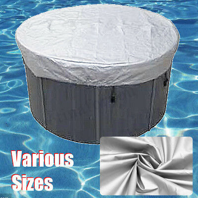13 Sizes Round Tub Cover All-Weather Protector-Spa Cover Harsh Weather Guard