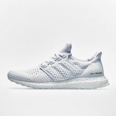 adidas Mens Ultra Boost Clima Running Shoes Footwear Trainers White Training