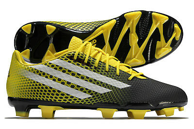 adidas Mens Crazyquick Malice Firm Ground Rugby Boots Sports Shoes Studs Black