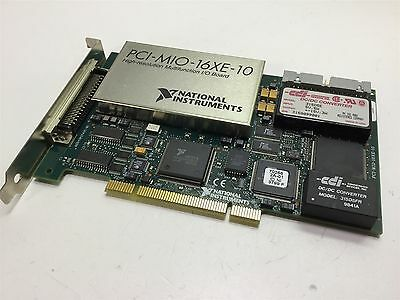NI National Instruments PCI-MIO-16XE-10 (PCI-6030E) Multifunction I/O Board Card