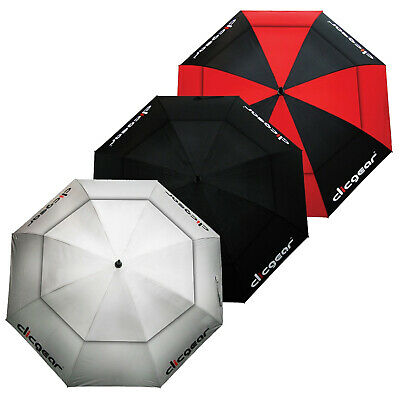 """Clicgear Double Canopy Vented Umbrella Tour Golf UV Protection Brolly 68"""" Inch"""