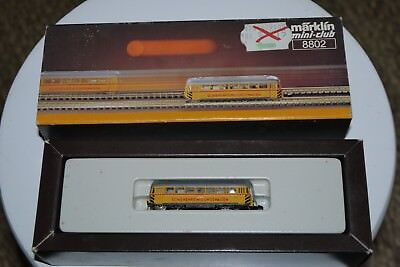 MARKLIN mini club # 8802 Z Scale  Model Train SCHIENENREINIGUNSWAGEN in the box