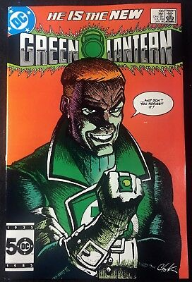 Green Lantern (1960) #196 VF- (7.5) Guy Garner cover