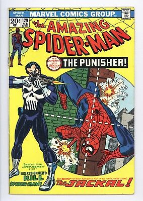 Amazing Spider-Man #129 Vol 1 Near Perfect High Grade 1st Appearance of Punisher