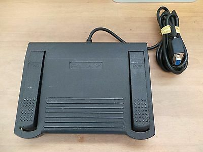 Infinity IN-DB9 Dictaphone Dictation Transcriber Foot Pedal Serial DB9 Interface