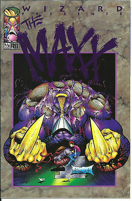 THE MAXX # 1/2    WIZARD  Image Comics SAM KIETH VARIANT
