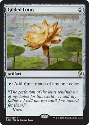 Gilded Lotus (Vergoldeter Lotus) Dominaria