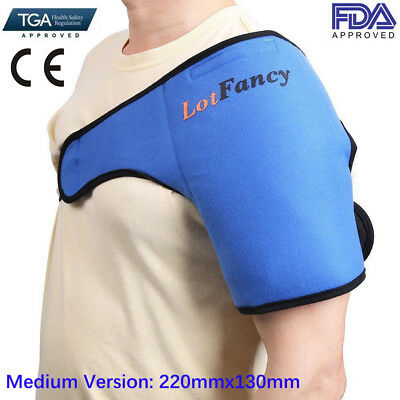 Hot Cold Heat Therapy Gel Ice Pack Wrap For Shoulder Legs Arm Muscle First Aids