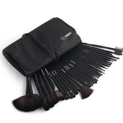 32PCS Professional Make Up Brushes Set Kabuki Foundation Powder Brush+Pouch Case