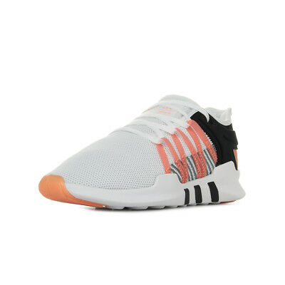 more photos 36867 a6f05 Chaussures Baskets adidas femme Eqt Racing Adv taille Blanc Blanche Textile