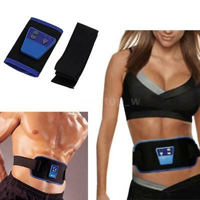 Electric Sauna Slimming Belt Body Shaper Weight Loss Waist Fat Cellulite Burning