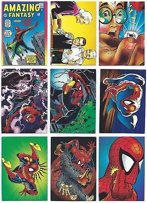 1992 Comic Images  Marvel Spider-Man Series II 30th Anniversary 90 Card Set