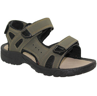 Ladies Cushion Walk Sandals Velcro Casual Walking Hiking Womens Sports Shoes