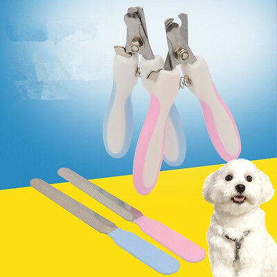 Stainless Steel Dog Pet Nail Toe Claw Clippers Trimmers Cat Scissors Cutter GIFT