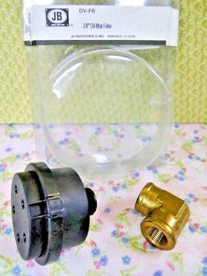 "Vacuum Pump, Filter, Oil Mist, 3/8"" JB Part# DV-F6"