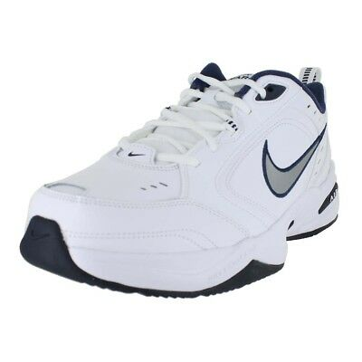 Nike Air Monarch 4 4E Extra Wide White Navy 416355-102 Mens Us Sizes