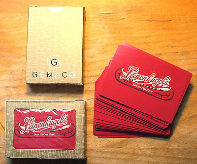 LEINENKUGELS Brewing Co.- Canoe Logo - Deck Of Playing Cards - LEINIE'S - Beer