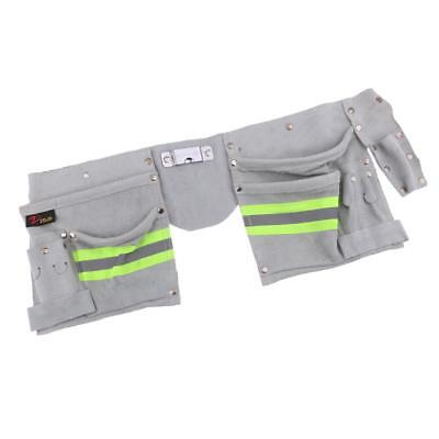 Reflective Electrical Maintenance Tool Pouch Bag Technician Tool Holder #3