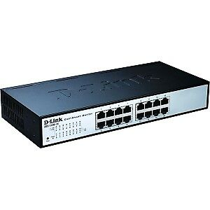 NEW! D-Link DES-1100-16 16 Ports Manageable Ethernet Switch 16 X Fast Ethernet N