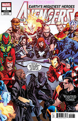 Avengers #1 May 2018 Sold Out Marvel Comic Book Store Variant Wanted Comix New