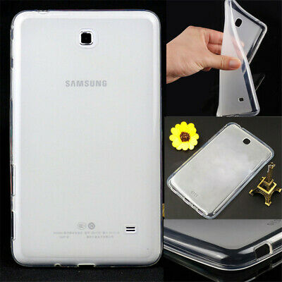 Soft TPU Gel Silicone Case Cover For Samsung Galaxy Tab 3 4 A E S S3 S2 Tablets