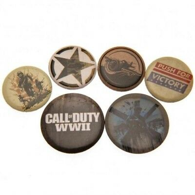 Call Of Duty Six Button Badges Set with Free UK P&P
