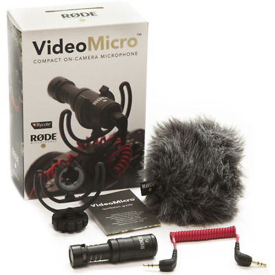 Rode VideoMicro Video Micro Compact On-Camera Microphone