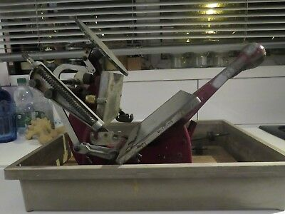ADANA 5 x 3 HAND PULLED LETTERPRESS PRINTING PRESS NO ROLLERS
