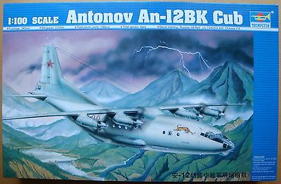 TRUMPETER® 04001 Antonov An-12BK Cub Russian Heavy Transport in 1:100