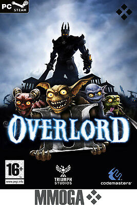 Overlord 2 II - Steam PC Digital Download Code - Online eMail Versand - RPG - DE