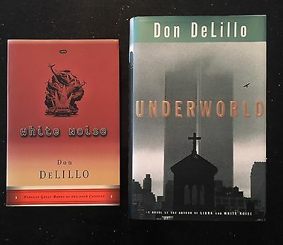 2 Don DeLillo Novels Underworld White Noise