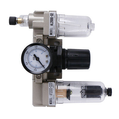 SMC Air Pressure Regulator Oil/Water Separator Trap Filter Air Compressor
