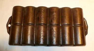 Vintage Cast Iron Griswold 950 French Roll Pan