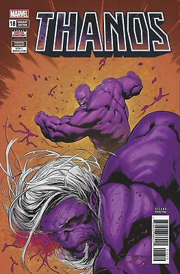 Thanos #18 2nd Print Variant (2018 Marvel Comics) NM Shaw Cates