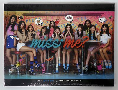 I.O.I IOI - Miss Me? (2nd Mini) CD+Photocard+Folded Poster+Tracking no.