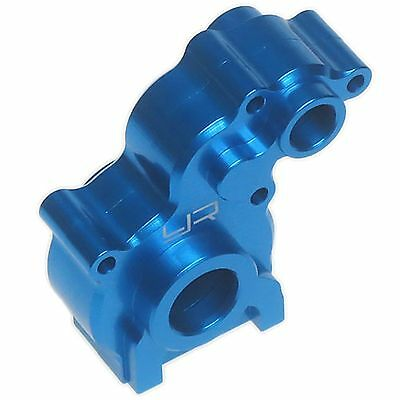 Blue alloy centre gearbox cases for Axial SCX10. 1:10 RC Crawler