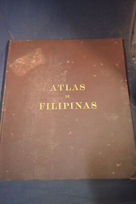 1900 Atlas of the Philippines - 30 Colored Maps